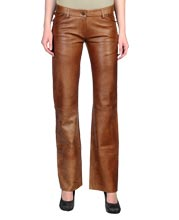 Flamboyant and Classy Leather Pant