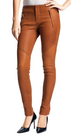 Super Slim and Cozy Leather Pant