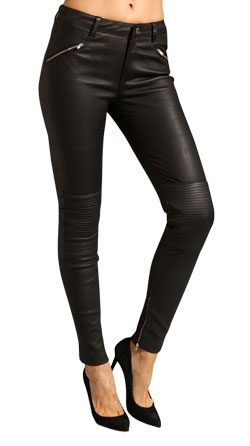 Funky and Chic Leather Pant