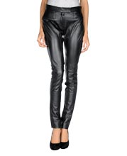 slim-fit-leather-casual-pants