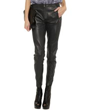 slim-fitting-classy-leather-pants