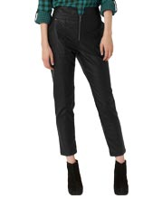 Smart-high-waist-leather-pants-for-women