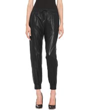 Luxe-leather-pants-for-women-with-elastic-cuffs