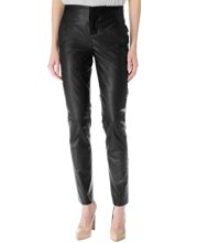 Silk-backing-leather-trouser
