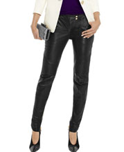 smart-tight-fitting-leather-pants-with-three-front-patch-pockets
