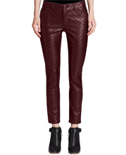 womens-lambskin-leather-pants-with-diamond-stitch-patterns