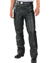 Rough and tough leather pant for men