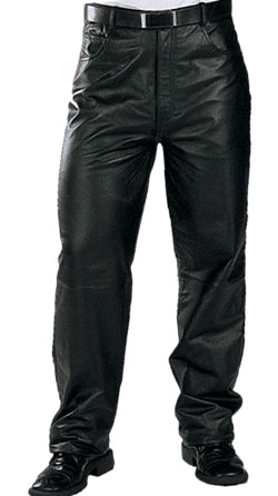 Baggy style, comfy leather pant for men
