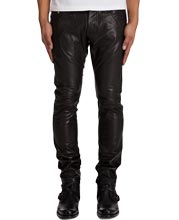slim-fit-slightly-tapered-mens-leather-pants