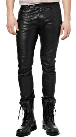Rock Star-Style Leather Pant for Men