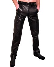 Snug and Sturdy Mens Leather Pant
