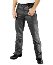 Below The Ankle Length Leather Pants