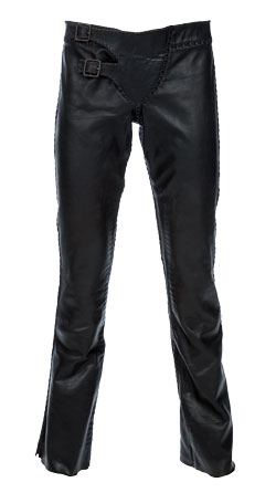 Enticing and Cowboy Styled Leather Pant