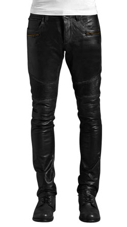 Roguish and Downtown Styled Leather Pant