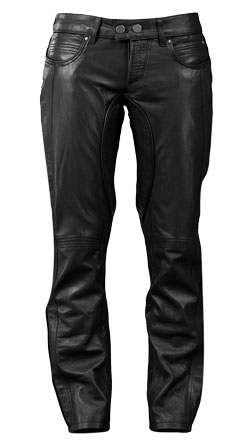 Trendy Low cut Leather Pant