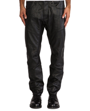 mens-five-pocket-leather-pants-with-rivet-accent