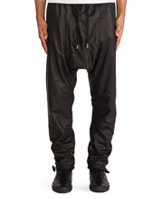 mens-leather-drop-crotch-skinny-pants-with-toggle-closure-hem