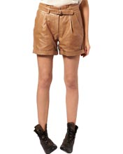 paper-bag-waist-womens-leather-shorts