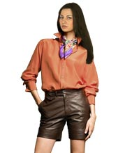 ultramodern-slick-womens-leather-shorts