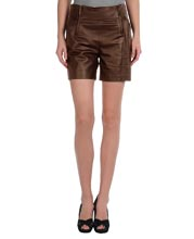 Hot and Brusque Leather Shorts