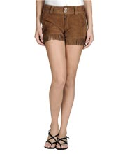 fringe-suede-womens-leather-shorts