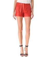 layered-womens-leather-shorts