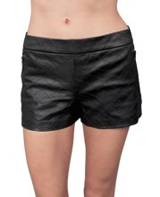 womens-leather-shorts-with-zippered-back-closure