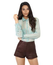 cool-and-classy-stitched-detailing-leather-shorts