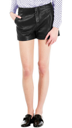 Peppy Urban Leather Shorts
