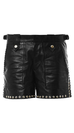 Spunky Leather Shorts