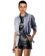 womens-leather-shorts-in-a-quilted-pattern