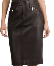 Sleek Leather Skirt for Women