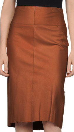 High-End Leather Skirt for Women
