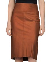 high-end-womens-leather-skirt