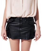 sizzling-womens-leather-mini-skirt