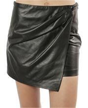 sleek-dainty-womens-leather-mini-skirt