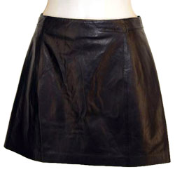 Mini Casual Leather Skirt for Women