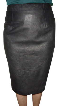Squally lucrative Leather Skirt for Women