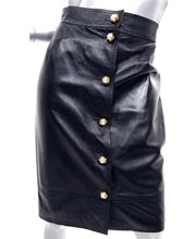 melodious-pearl-leather-skirt