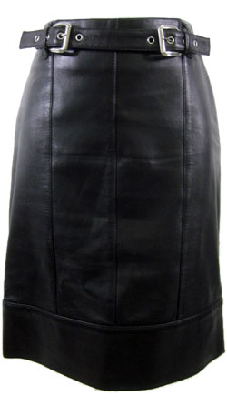 Exe chic Leather Skirt for Women