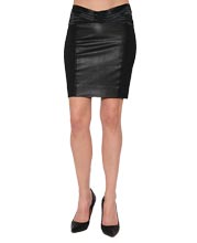 elastic-waist-fit-leather-skirt