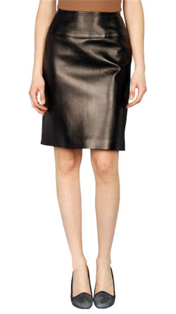 Gregarious Leather Skirt for Women