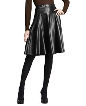 below-hip-pleated-official-leather-skirt