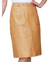 slim-fitting-daily-wear-leather-skirt