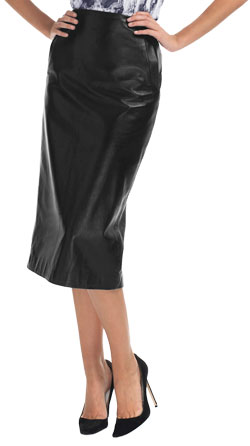 Perfect Formal Leather Skirt for Girls