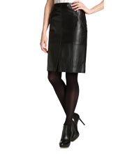 skintight-straight-versatile-leather-skirt