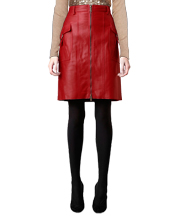 cool-pencil-style-leather-skirt