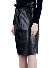 glamorous-and-timeless-leather-skirt