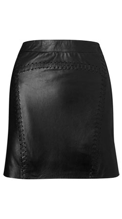 Sleek and Stylish Womens Leather Skirt