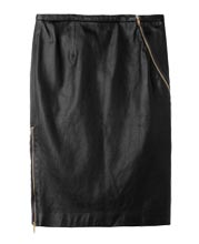 zipper-detailing-womens-leather-skirt